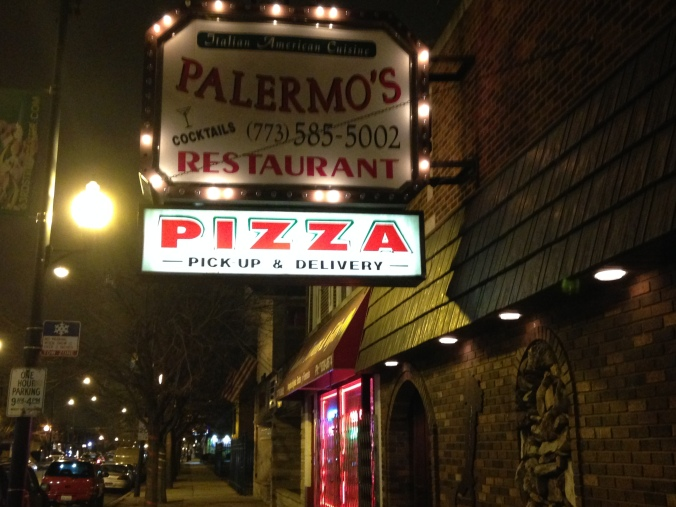 Palermo's Sign - West Lawn, Chicago - Pizza Hounds