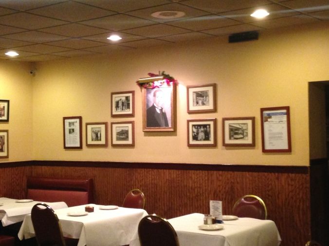 Dining Room Wall with Framed Photographs - Palermo's of 63rd, West Lawn