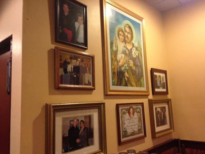 Photos of Caldarone Family and Religious Figures - Palermo's of 63rd, West Lawn