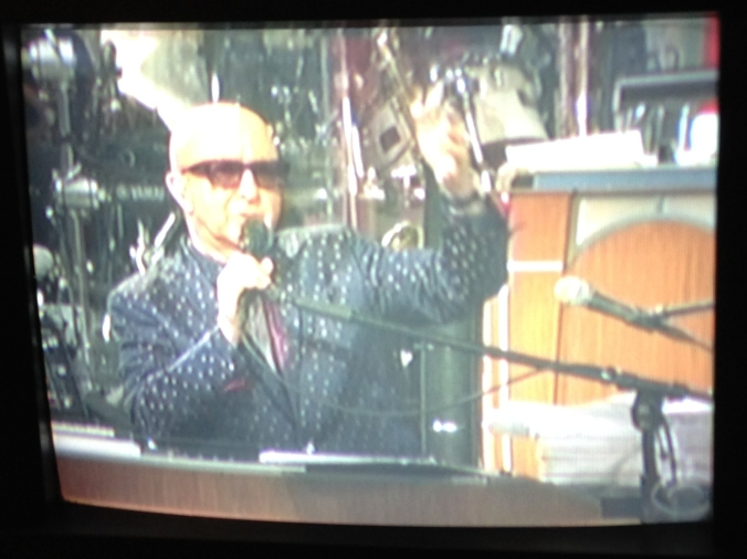 Paul Shaffer on David Letterman's Last Christmas Show - December 2014