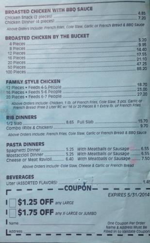 Obbie's menu 3