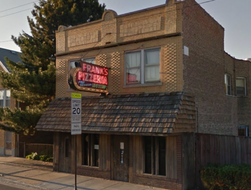 Frank's Pizzeria from Google Street View