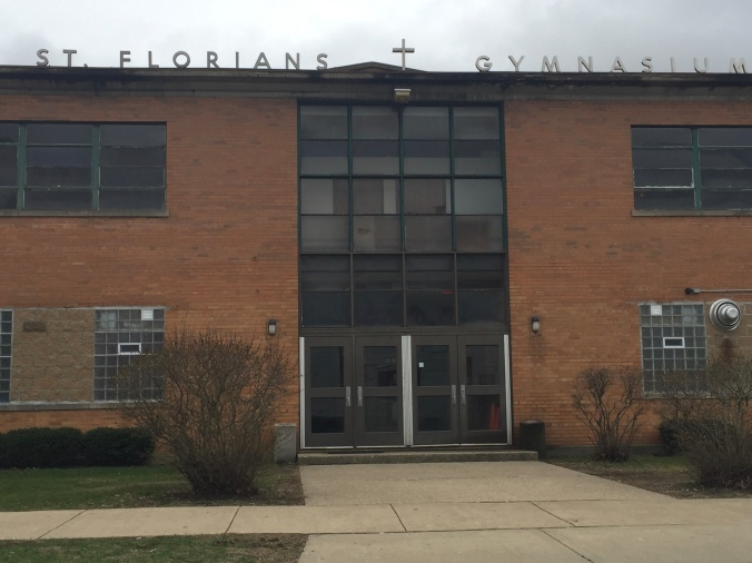 St. Florian Gymnasium - Pudgy's Pizza, Hegewisch - Chicago Pizza Hound