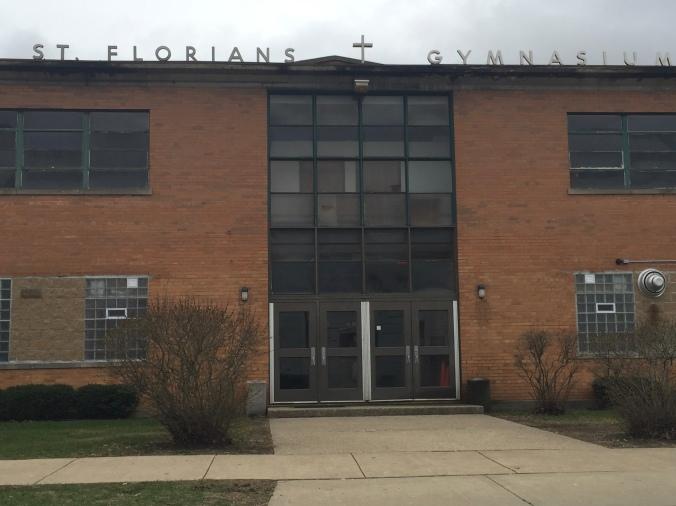 St. Florian Gymnasium - Pudgy's Pizza, Hegewisch - Chicago Pizza Hound