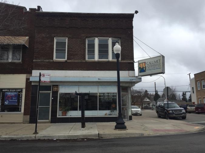 Calumet Stewardship Initiative, 2017 (Previously Klucker's Pharmacy), Baltimore Avenue, Hegewisch