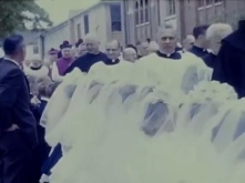 Source: 1963 05 12 Kulinski Golden Jubilee Procession, uploaded by YouTube user Gerard Dupczak.