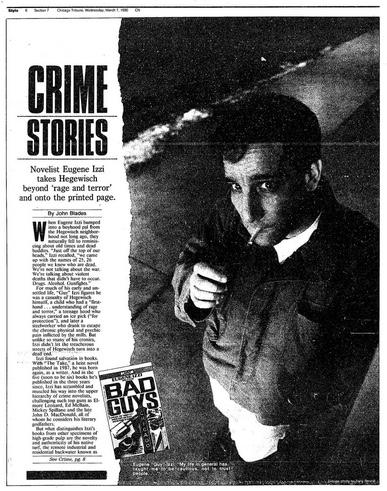 Eugene Izzi Bad Guys Tribune