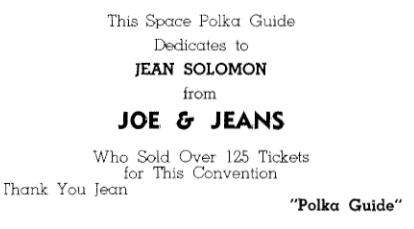 Jean Salomon, 1964