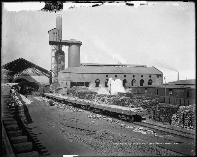 Iroquois Smelter 2, South Chicago, 1901