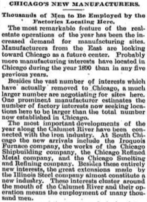Source: Chicago Tribune, December 28, 1890.