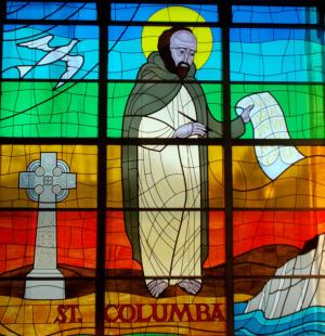Stained Glass Columba 04