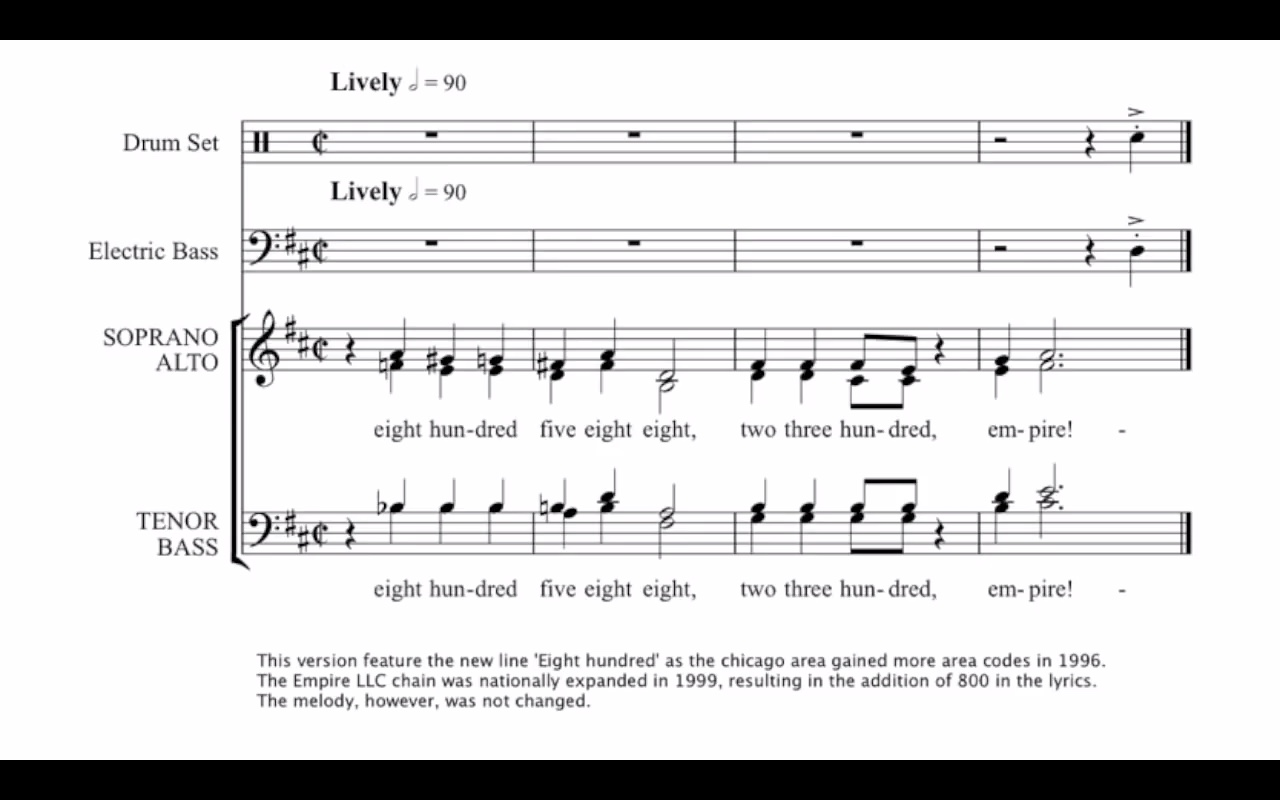 history of the empire jingle by mead1955