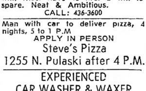 Perry's Pizza Joynt, Northlake, IL - Chicago Pizza Hound
