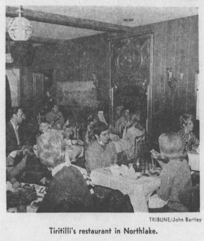 Tiritilli's Restaurant, Northlake - Chicago Tribune, Apri