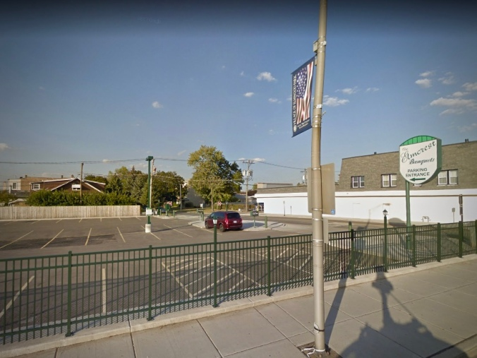 7402 W. Grand Parking Lot, Former Site of Victory Pizzeria and Armand's, October 2017 - Google Street View