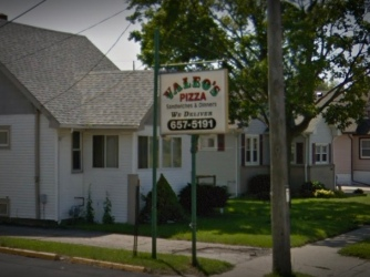 Valeo's Pizza, Kenosha, Wisconsin, Successor to Spata's Pizza in Northlake, Illinois - Google Street View
