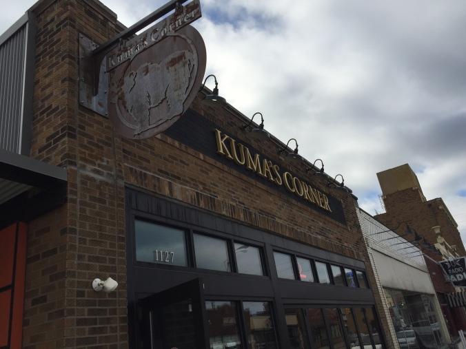 Burgers at Kuma's - 1127 Prospect St., Indy