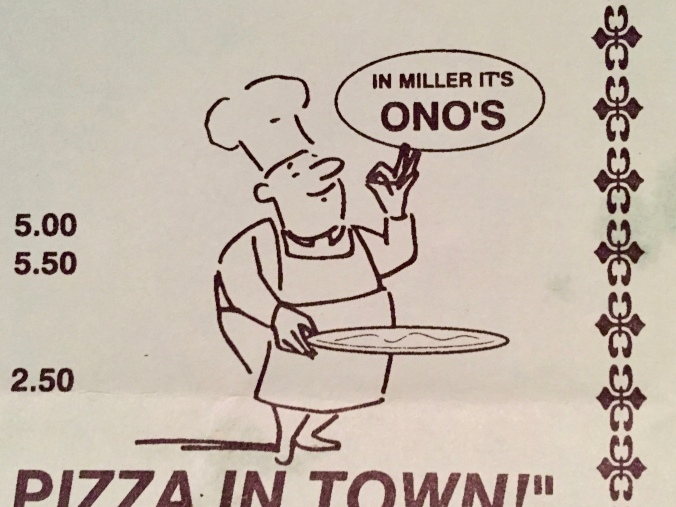 In Miller It's Ono's - Ono's & Jo's - December 2014