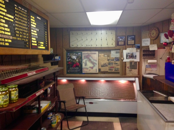 Interior of Ono's Pizza - Miller Beach, Gary, Indiana - December 20, 2014