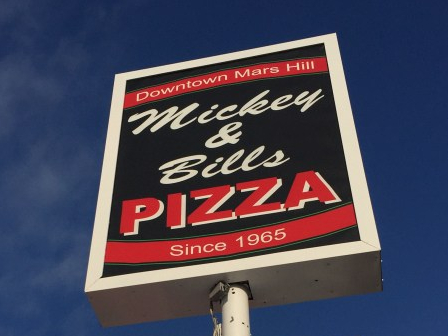 Mickey & Bill's Sign - Downtown Mars Hill Since 1965